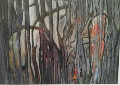 "Aquarell - ""No name"" ca 46 x 34 cm 2018 No Name, Painting, Art, Watercolor Painting, Glow Paint, Vibrant Colors, Abstract Art, Idea Paint, Art Production"