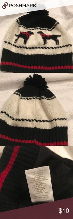 Janie & Jack knit hat Barely used Janie & Jack knit hat as shown. In great condition. Price is firm unless bundled Janie and Jack Accessories Hats
