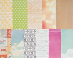 Add-on Patterned Paper - March 2014 at Studio Calico