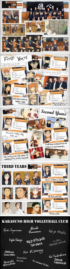 These character cards were previously individual deviations. But I thought it'd be better to combine them all into one. So here it is. Fonts used for signatures Hinata -Foxjump(It has j...