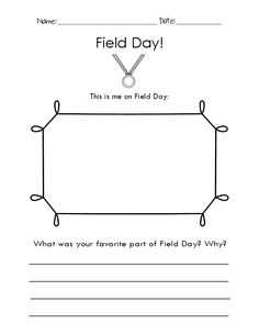 FREE Sports Day Worksheet and Field Day Worksheet! Let your ...