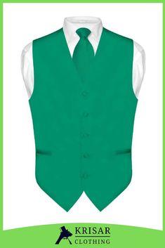 Vesuvio Napoli Mens Paisley Design Dress Vest /& Necktie Burnt Orange Color Neck Tie Set