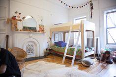TOUCH cette image: Dans la chambre de Marius lit superposé pensé par Sophie ... by The Socialite Family