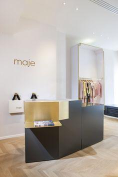 Boutique Maje - Paris / Shop Maje in Paris http://www.element-s.fr/
