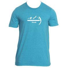 Moab, Utah Mountaineer - Men's T-Shirt
