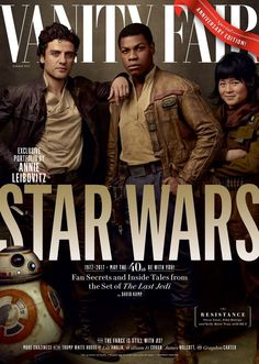 See the Cast of Star Wars: The Last Jedi on Four Exclusive Vanity Fair Covers | Vanity Fair