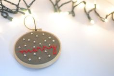 CUSTOMIZEABLE christmas ornament // custom by florerocreations, $14.50