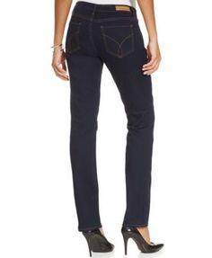 Calvin Klein Jeans Straight-Leg Jeans - Blue 27S