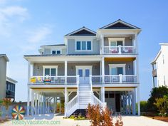 Holden Beach Rentals | Holden Beach Vacation Rentals | Island Time All the Time 1217 |  (6 Bedroom Oceanfront House)