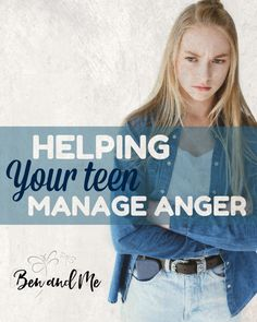 Dealing with your teen's anger can be particularly daunting as a homeschool mom. Helping your teen manage anger can be challenging, but it is doable. Parenting Articles, Parenting Teens, Parenting Hacks, Foster Parenting, Anger Management Tips, Strong Willed Child, Anger Issues, Parent Resources, Christian Parenting