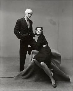 Max Ernst & Dorothea Tanning by Irving Penn (1947)