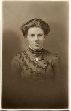 Vintage Real Photo Postcard of a Young Woman c. 1900s. £3.25, via Etsy.