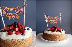 Words & Cake | Bake, Eat, Write, Read: Old Fashioned Sponge Cake with Whipped Mascarpone Cream and Fresh Berries