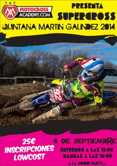 6/9 SuperCross. Quintana Martin Galindez.