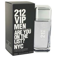 212 Vip by Carolina Herrera Eau De Toilette Spray 6.7 oz (Men)