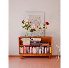 Flowers/Bookshelf