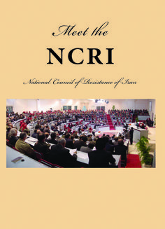 Meet the NCRi - National Council of Resistance of Iran