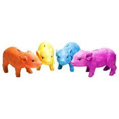 Colour Pop Accessories Piglet Money Box, Pink  £12.00 ACHICA £25.00 RRP