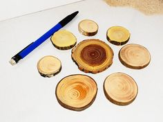 Handmade jewelry findings collection of wood jewelry