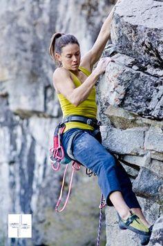 Fall climbing in Tahoe