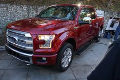 2015 Ford F150 Ruby Red
