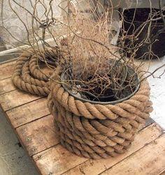 rope wrap around pots