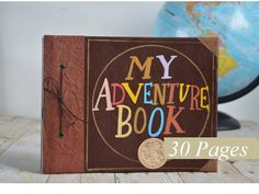 My Adventure Book  ADVENTURE EDITION Ready by SlightlyEmbellished, $59.95