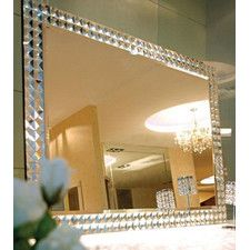 Ablaze Art Deco Contemporary Destiny Mirror