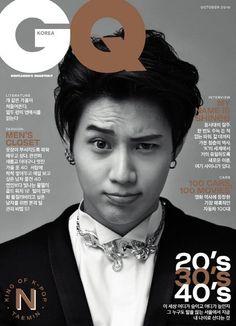160913 #Taemin #SHInee - GQ Korea October 2016 Issue