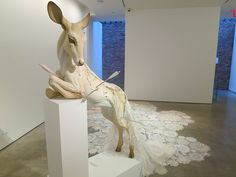 """Beth Cavener Stichter, """"Come Undone,"""" at Claire Oliver 