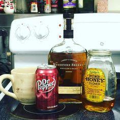 Doctoring a cough the toughest way I can. #oldfashioned #labrot&graham #woodfordreserve #bourbon #needalittlehelp #hometreatment #select #distillersselect #kentuckybourbon #cough #tripledistilled