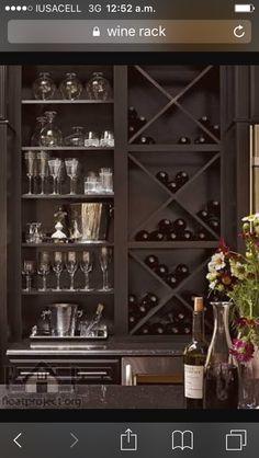 Kitchen Cabinet Wine Rack | 24 Best Wine Corner Images In 2019