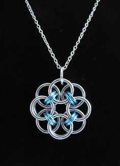 Chainmaille Rose