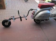 Motorcycle Towing, Motorcycle Trailer, Moto Bike, Lambretta Scooter, Vespa Scooters, Vespa Accessories, Vespa Smallframe, Jawa 350, Teardrop Camper Trailer