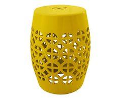 Garden Seat Charm Spurs - Amarelo