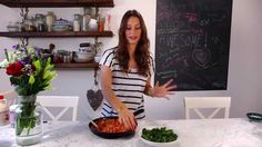Super lazy middle-of-the-week cannellini bean stew by Deliciously Ella