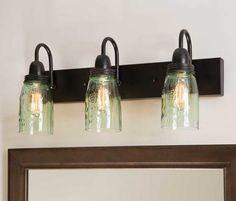 Mason Jar Vanity Lamp