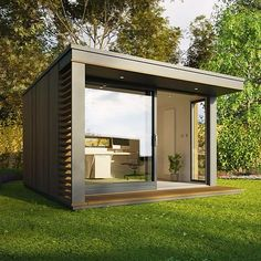 The Mini Pod from Pod Spaces #tinyhouse #architecture #home #micro #nature #tinyhomes #architect #house #modern #green #tinyhousemovement #cool #future #tiny #design #minimalist #pod #greentinyhouse by greentinyhouse