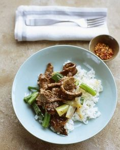 "See the ""Beef and Scallion Stir-Fry"" in our Quick Better-than-Takeout Recipes gallery"