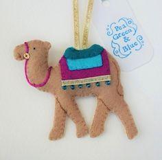 Camel Christmas decoration £5.50