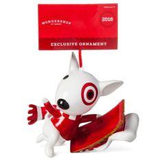 Target Bullseye Dog Ornament - Wondershop,