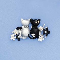Purr-fect Pals Pin - AmeriMark - Online Catalog Shopping for Womens Apparel | Beauty Products | Jewelry | Womens Shoes | Health | Wellness