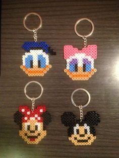 Disney Hama Beads | StitchesYarn: El rincón de Jimmy: Llaveros / Imanes Hama Beads Disney ...