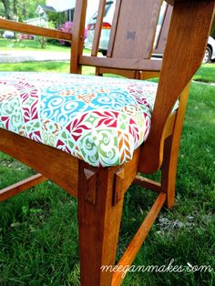 How to Recover a Dining Chair Seat