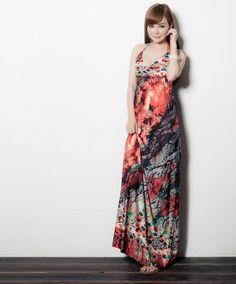 Newly Beach Mopping Dress Orange  Item number:RF14050224 Wholesale price:US$ 11.35
