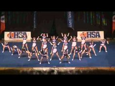 at - I like the little step thing the girls standing up do while the girls on the ground do their jazz rolls. Cheerleading Crafts, Cheerleading Videos, Cheer Routines, Lake Zurich, State Champs, Cheer Coaches, Cheer Stuff, Illinois State, Girl Standing