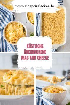 super leckere überbackene Mac and Cheese, ganz einfach gemacht
