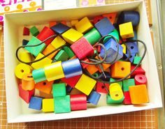 Vintage DLM Multivariant Sequencing Beads by PaperCreationsbyDeb
