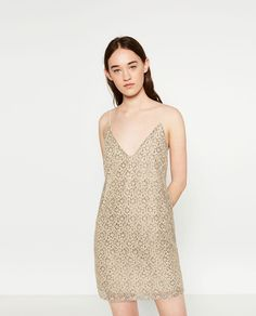 LACE DRESS-Mini-DRESSES-WOMAN | ZARA United States