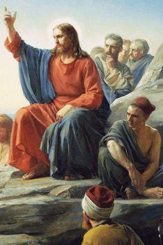 Arte Lds, Pictures Of Jesus Christ, Religion Catolica, Lds Art, Jesus Prayer, King David, In Christ Alone, Lord And Savior, Prayers